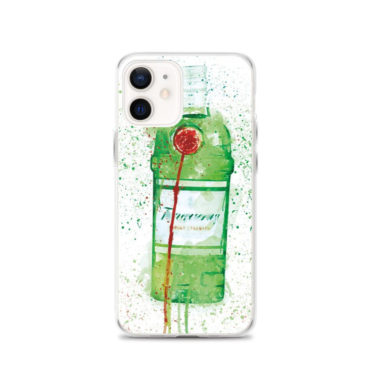 Woolly Mammoth Media iPhone 12 Tanq gin iPhone Case