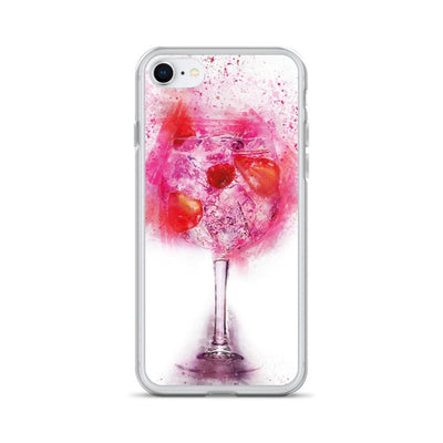Woolly Mammoth Media iPhone 7/8 Pink Gin Glass iPhone Case