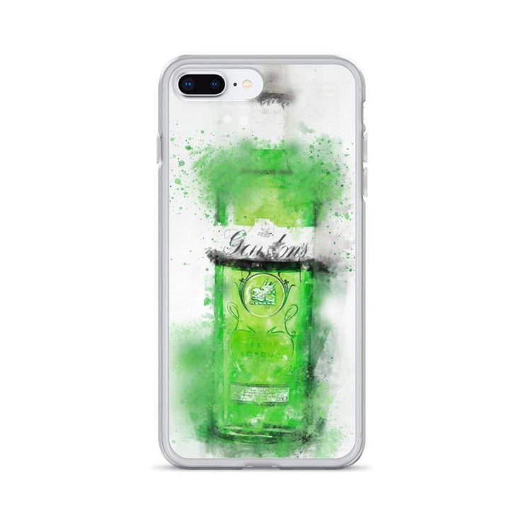 Woolly Mammoth Media iPhone 7 Plus/8 Plus Green Gordons Gin iPhone Case