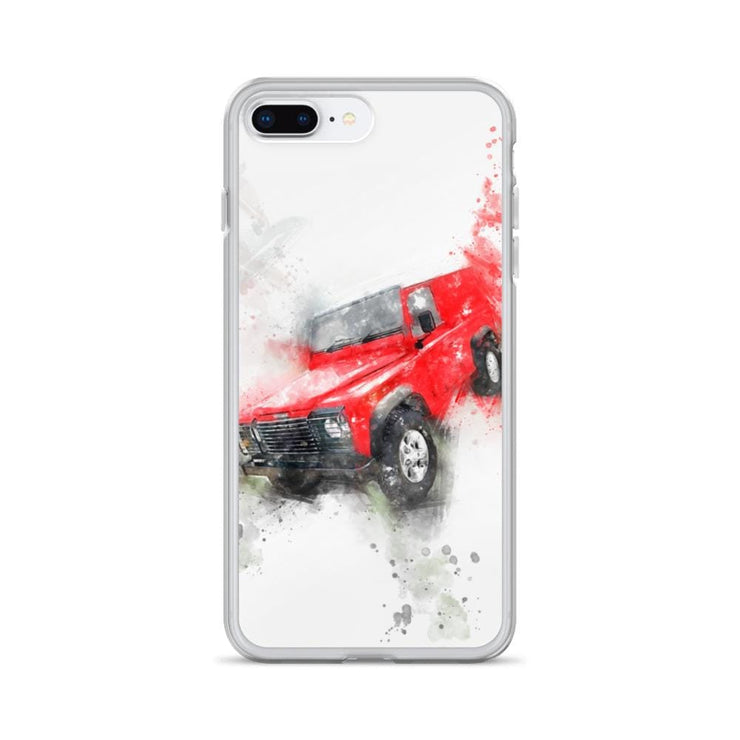 Woolly Mammoth Media iPhone 7 Plus/8 Plus Land Rover Defender iPhone Case Cover