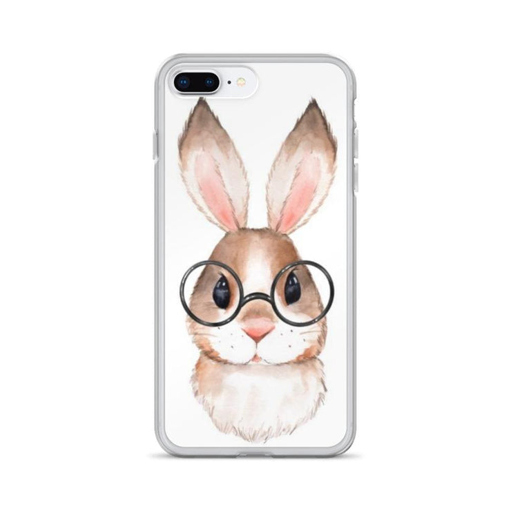 Woolly Mammoth Media iPhone 7 Plus/8 Plus Rabbit Bunny iPhone Case Cover