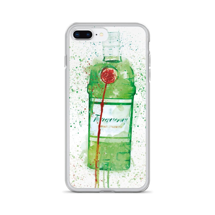 Woolly Mammoth Media iPhone 7 Plus/8 Plus Tanq gin iPhone Case