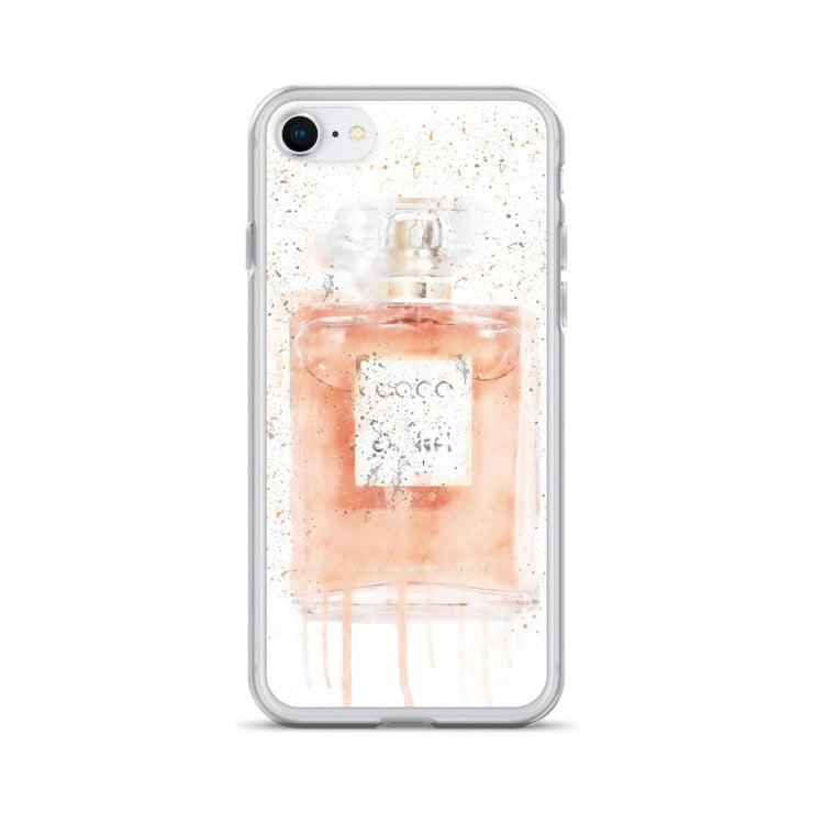 Woolly Mammoth Media iPhone SE Coral Perfume Bottle iPhone Case