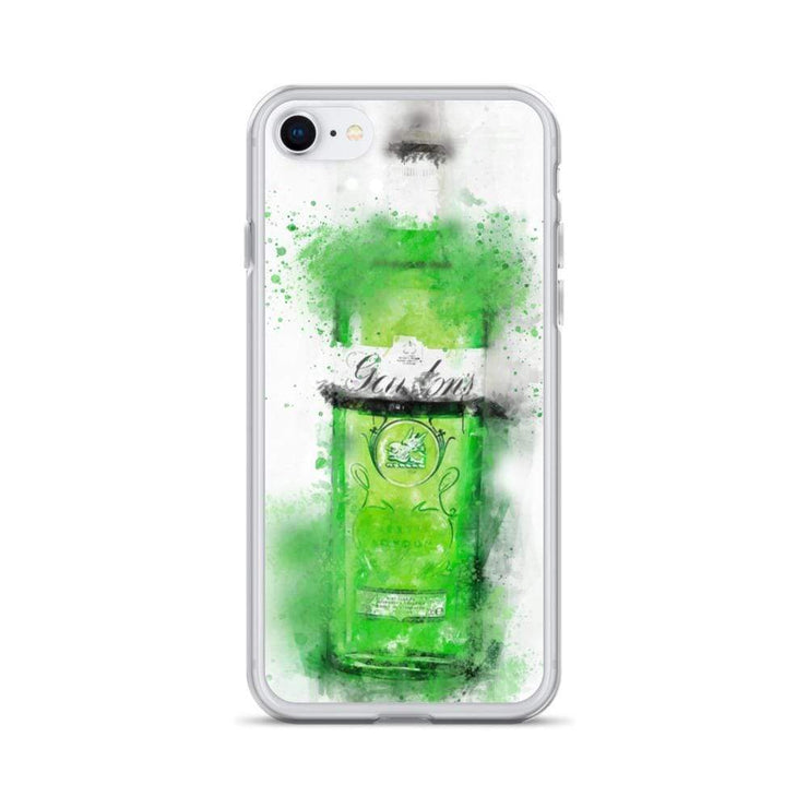 Woolly Mammoth Media iPhone SE Green Gordons Gin iPhone Case
