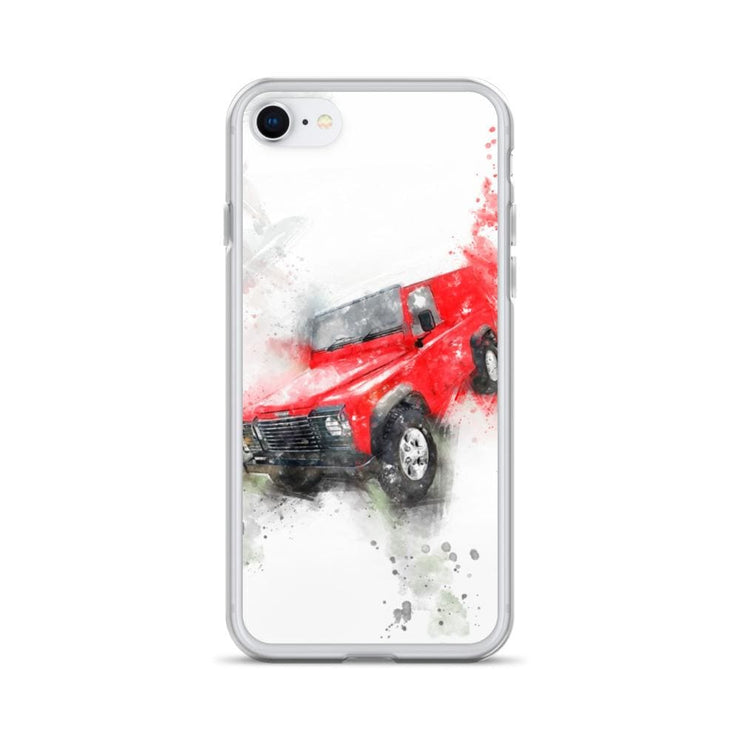 Woolly Mammoth Media iPhone SE Land Rover Defender iPhone Case Cover