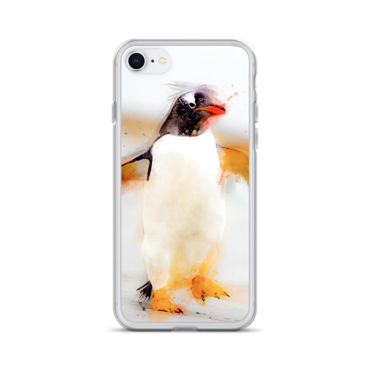 Woolly Mammoth Media iPhone SE Penguin Waddles iPhone Case