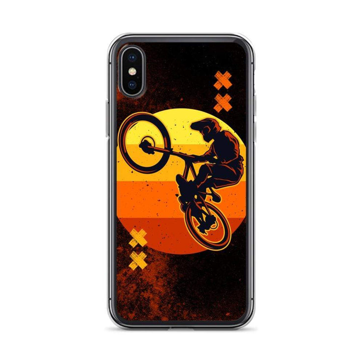 Woolly Mammoth Media iPhone X/XS BMX Bike iPhone Case