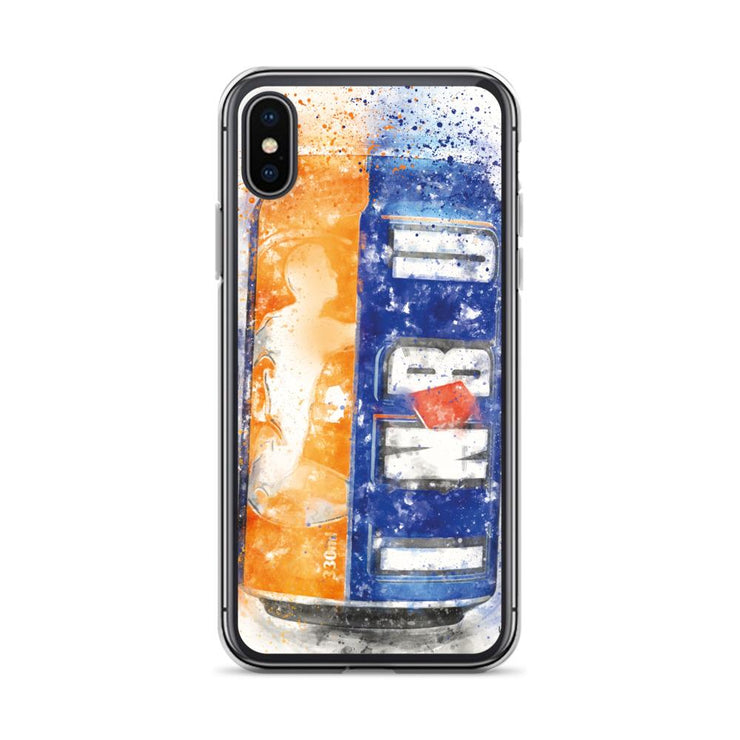 Woolly Mammoth Media iPhone X/XS Brew can Art iPhone Case