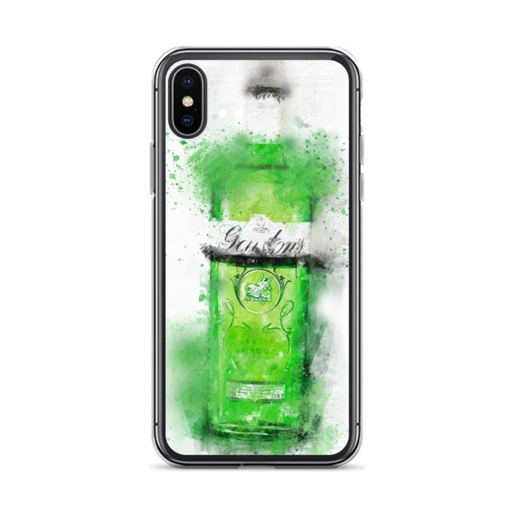 Woolly Mammoth Media iPhone X/XS Green Gordons Gin iPhone Case