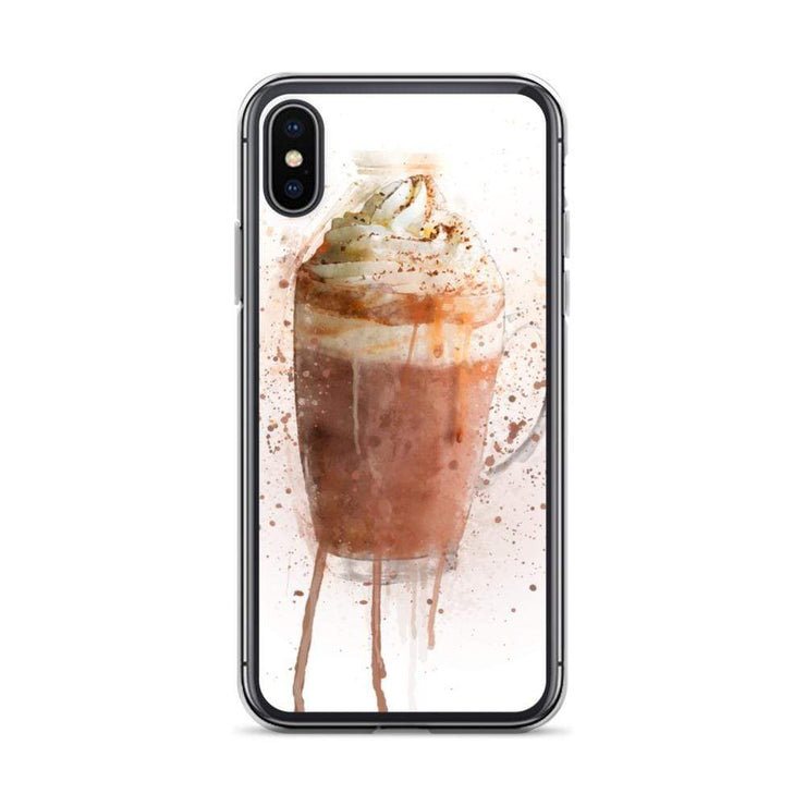 Woolly Mammoth Media iPhone X/XS Hot Chocolate iPhone Case Cover