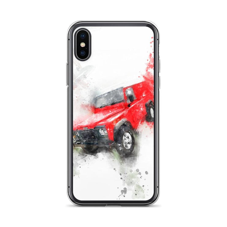 Woolly Mammoth Media iPhone X/XS Land Rover Defender iPhone Case Cover