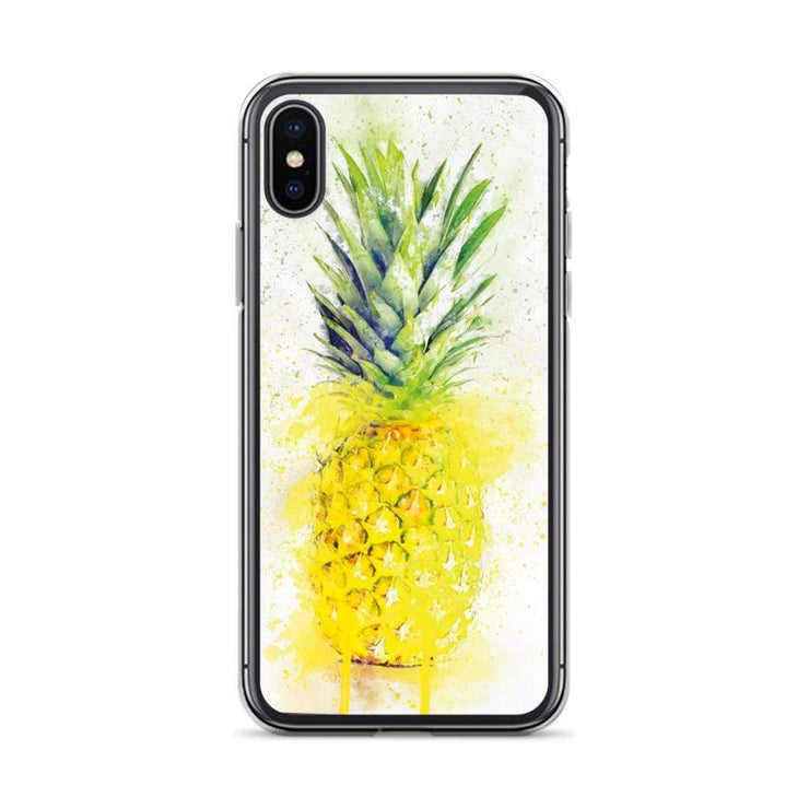 Woolly Mammoth Media iPhone X/XS Pineapple Fruit iPhone Case