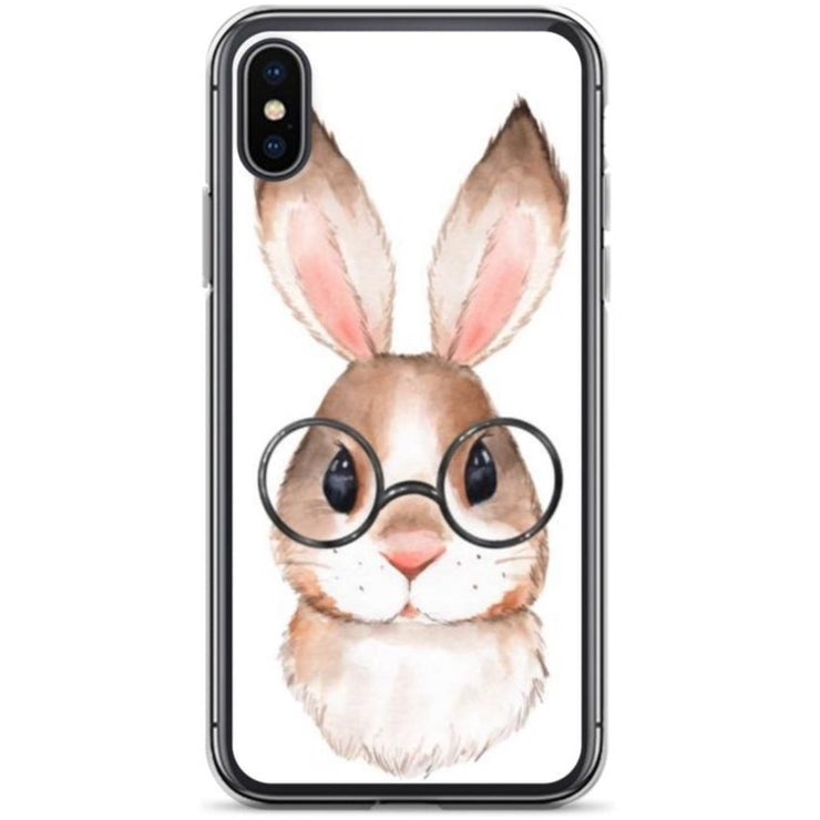 Woolly Mammoth Media iPhone X/XS Rabbit Bunny iPhone Case Cover