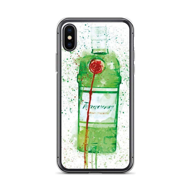 Woolly Mammoth Media iPhone X/XS Tanq gin iPhone Case