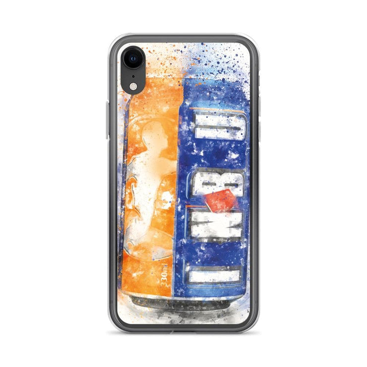Woolly Mammoth Media iPhone XR Brew can Art iPhone Case Cover