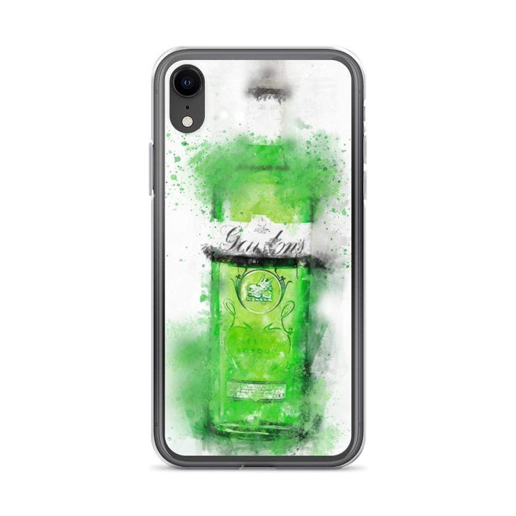 Woolly Mammoth Media iPhone XR Green Gordons Gin iPhone Case