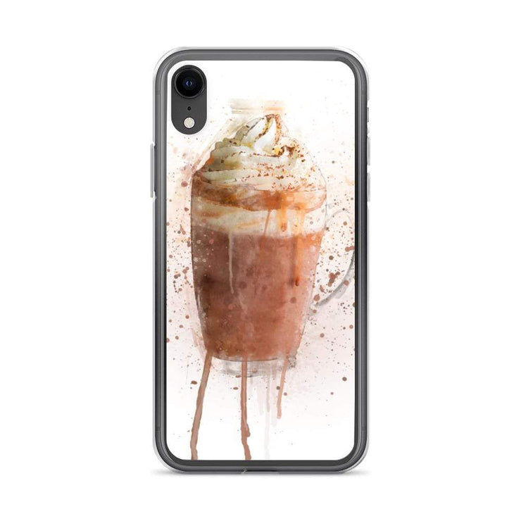 Woolly Mammoth Media iPhone XR Hot Chocolate iPhone Case Cover