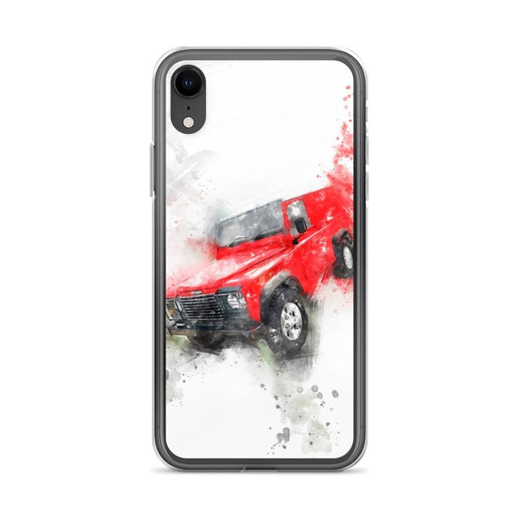 Woolly Mammoth Media iPhone XR Land Rover Defender iPhone Case Cover