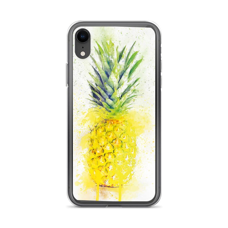 Woolly Mammoth Media iPhone XR Pineapple Fruit iPhone Case