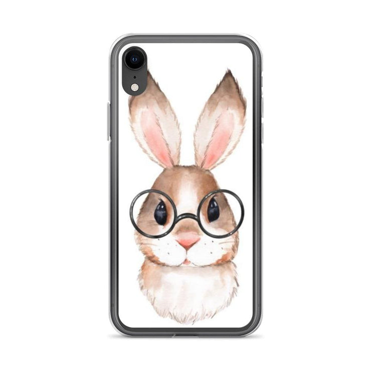 Woolly Mammoth Media iPhone XR Rabbit Bunny iPhone Case Cover