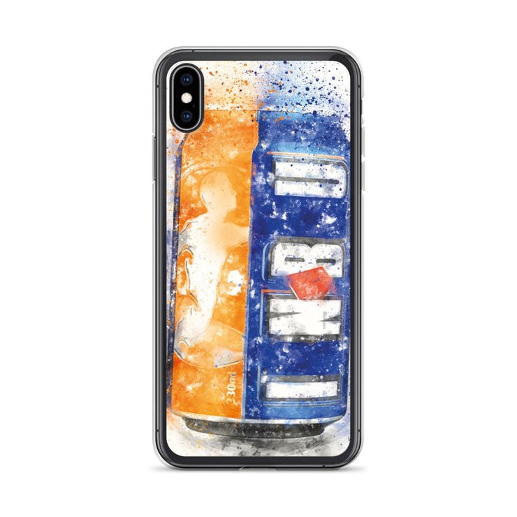 Woolly Mammoth Media iPhone XS Max Brew can Art iPhone Case Cover