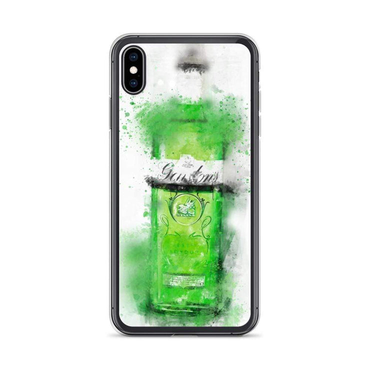 Woolly Mammoth Media iPhone XS Max Green Gordons Gin iPhone Case