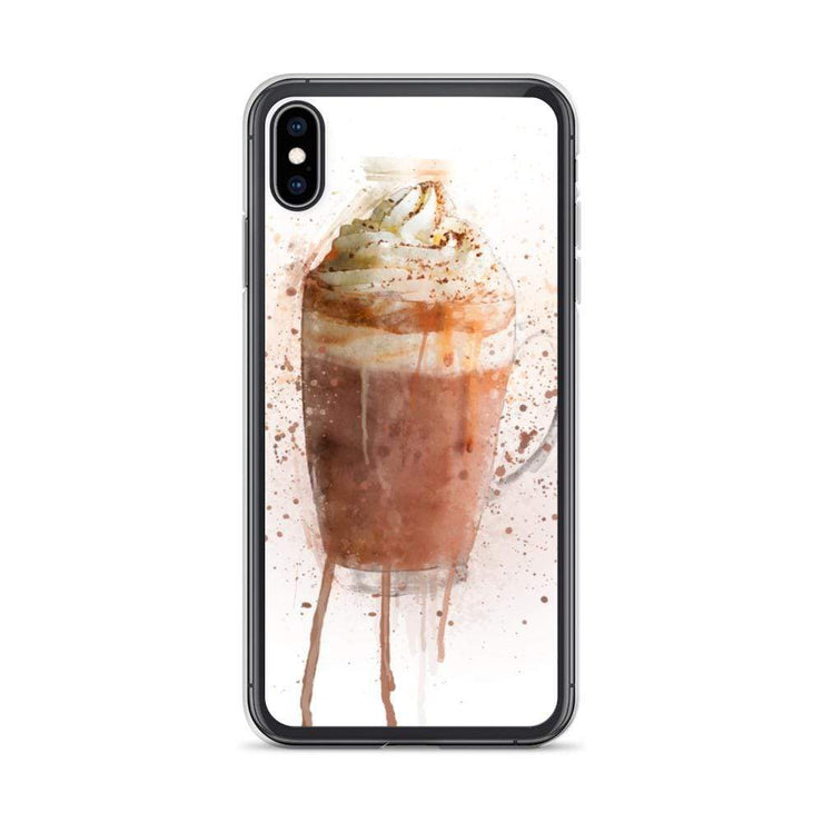 Woolly Mammoth Media iPhone XS Max Hot Chocolate iPhone Case Cover