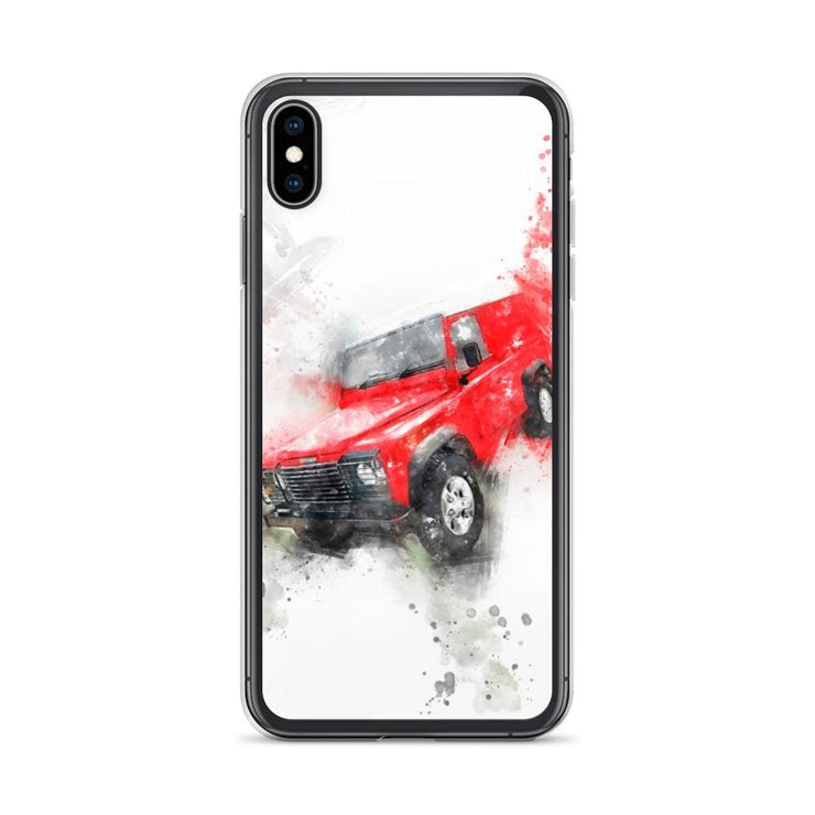 Woolly Mammoth Media iPhone XS Max Land Rover Defender iPhone Case Cover