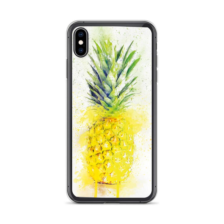 Woolly Mammoth Media iPhone XS Max Pineapple Fruit iPhone Case
