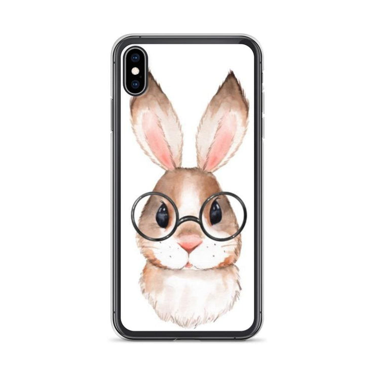Woolly Mammoth Media iPhone XS Max Rabbit Bunny iPhone Case Cover