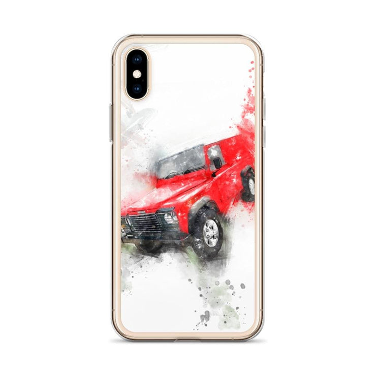 Woolly Mammoth Media Land Rover Defender iPhone Case Cover