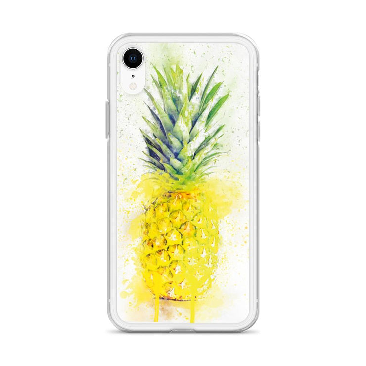 Woolly Mammoth Media Pineapple Fruit iPhone Case