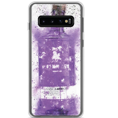 Woolly Mammoth Media Samsung Galaxy S10 Samsung Purple Gin Bottle Case Cover