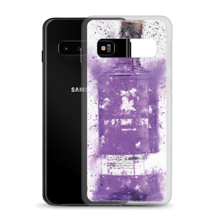 Woolly Mammoth Media Samsung Purple Gin Bottle Case Cover