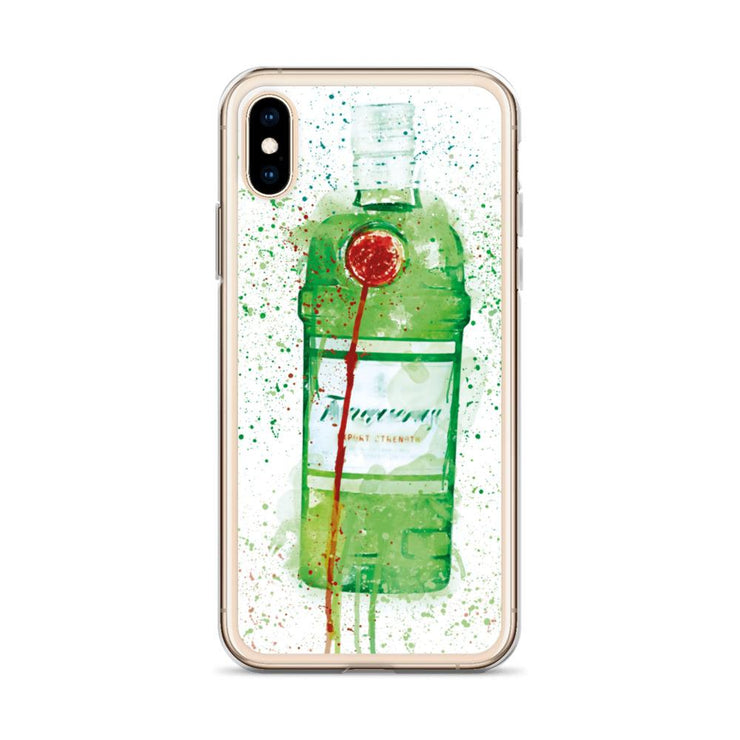 Woolly Mammoth Media Tanq gin iPhone Case