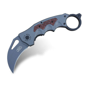Crow Z3 - Folding Pocket Knife Claw - OTF Double Action