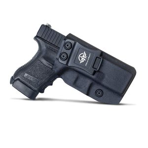 Glock 30S Holster IWB Kydex for Glock 30S Pistol - Inside Waistband Concealed Carry - Adj. Cant Retention - Cover Mag-Buttom - Widened Entrance - No Wear, No Jitter