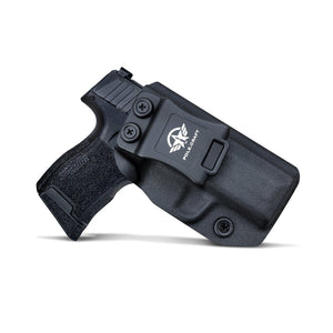 KYDEX IWB Holster P365 Sig Sauer 365 Holsters for Concealed Carry - Kydex Holster for Sig Sauer P365 IWB Holster Sig 365 Accessories - IWB Concealed Holster Pistol Case - Black