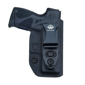 G2C IWB Holster Fit: Taurus G2C & Millennium PT111 G2 / PT140 Concealed Holster for Taurus G2C 9mm - Kydex Holster Taurus PT111 G2C Concealed Carry Pistol Case - Adj. Height & Cant - Entrance Widen - Black - PoLe.Craft Holster & Knives