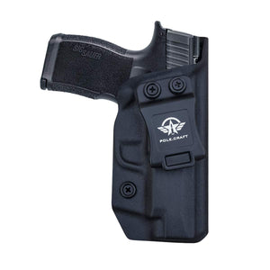 PoLe.Craft Sig P365XL Holster IWB Kydex for Sig Sauer P365XL Holsters Concealed Carry - Kydex IWB Holster for Sig P365XL Accessories ( Black, Right Hand Draw ) - PoLe.Craft Holster & Knives