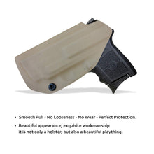 Load image into Gallery viewer, KYDEX IWB Holster Bodyguard 380 with Laser Waistband Carry Concealed Holster Bodyguard 380 Laser Pistol Holster Gun Case - Tan