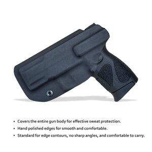G2C IWB Holster Fit: Taurus G2C & Millennium PT111 G2 / PT140 Concealed Holster for Taurus G2C 9mm - Kydex Holster Taurus PT111 G2C Concealed Carry Pistol Case - Adj. Height & Cant - Entrance Widen - Black