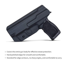 Load image into Gallery viewer, PoLe.Craft Sig P365XL Holster IWB Kydex for Sig Sauer P365XL Holsters Concealed Carry - Kydex IWB Holster for Sig P365XL Accessories ( Black, Right Hand Draw )