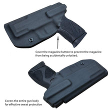 Load image into Gallery viewer, G2C IWB Holster Fit: Taurus G2C & Millennium PT111 G2 / PT140 Concealed Holster for Taurus G2C 9mm - Kydex Holster Taurus PT111 G2C Concealed Carry Pistol Case - Adj. Height & Cant - Entrance Widen - Black