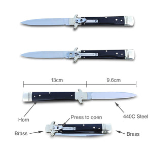Falcon A6 - Folding Tactical Knife - Spring Assisted Knife - Quick Opening Pocket Knife