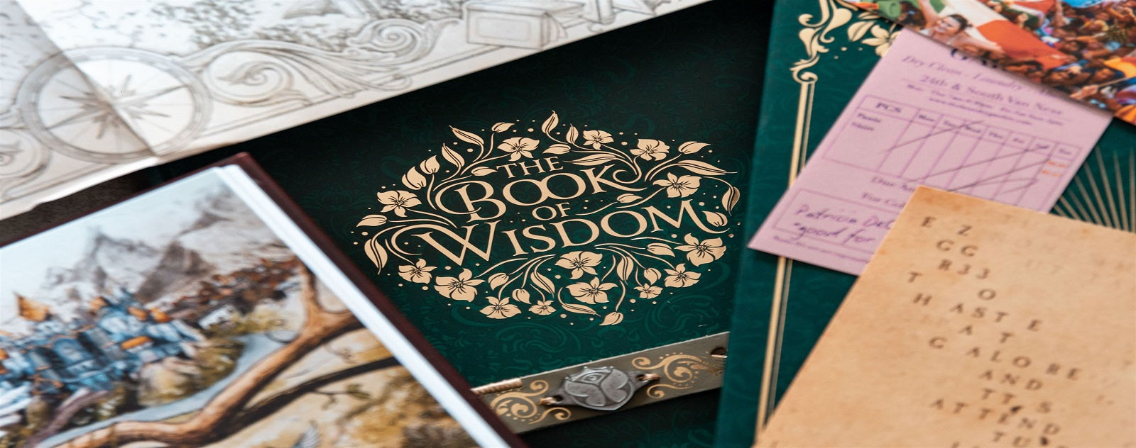 Book of wisdom Tomorrowland