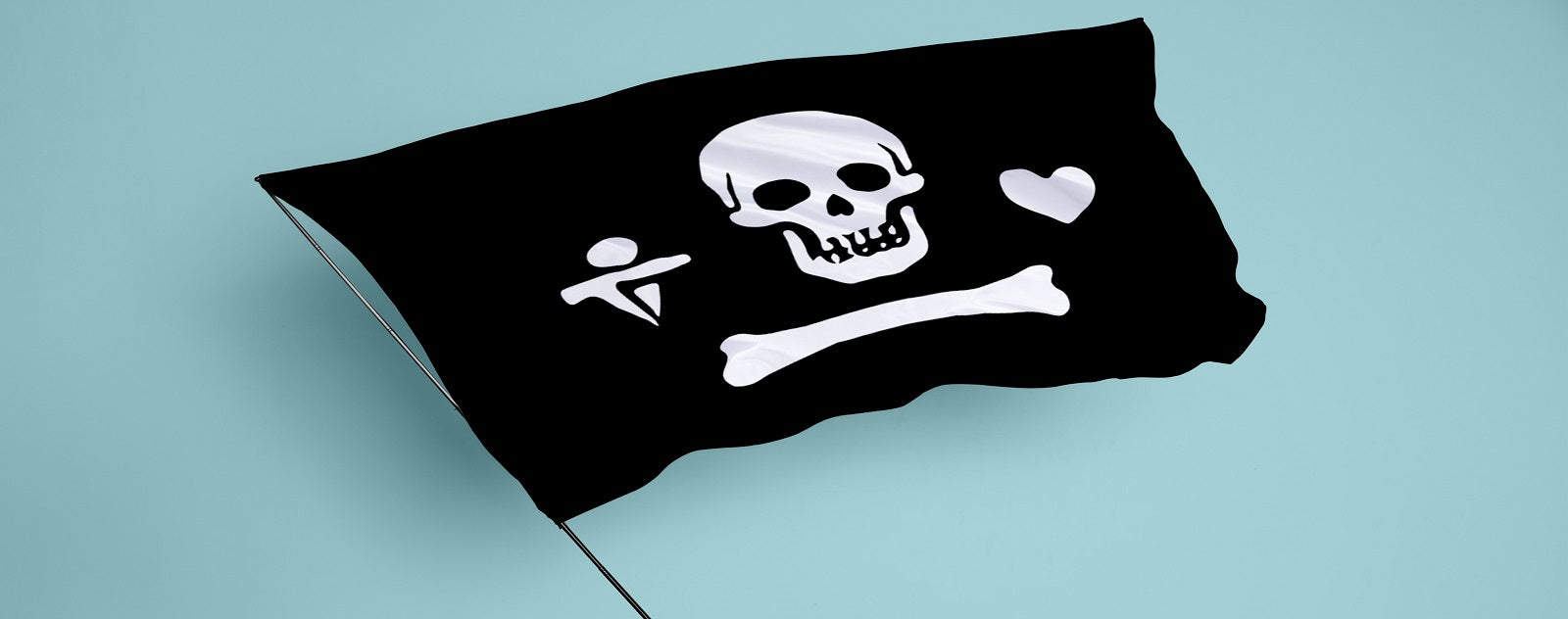 Drapeau pirate Stede Bonnet