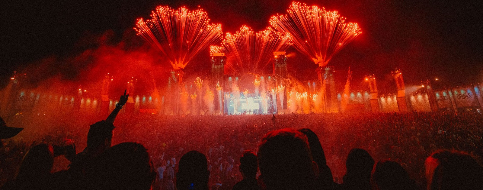 Tomorrowland feu d'artifice