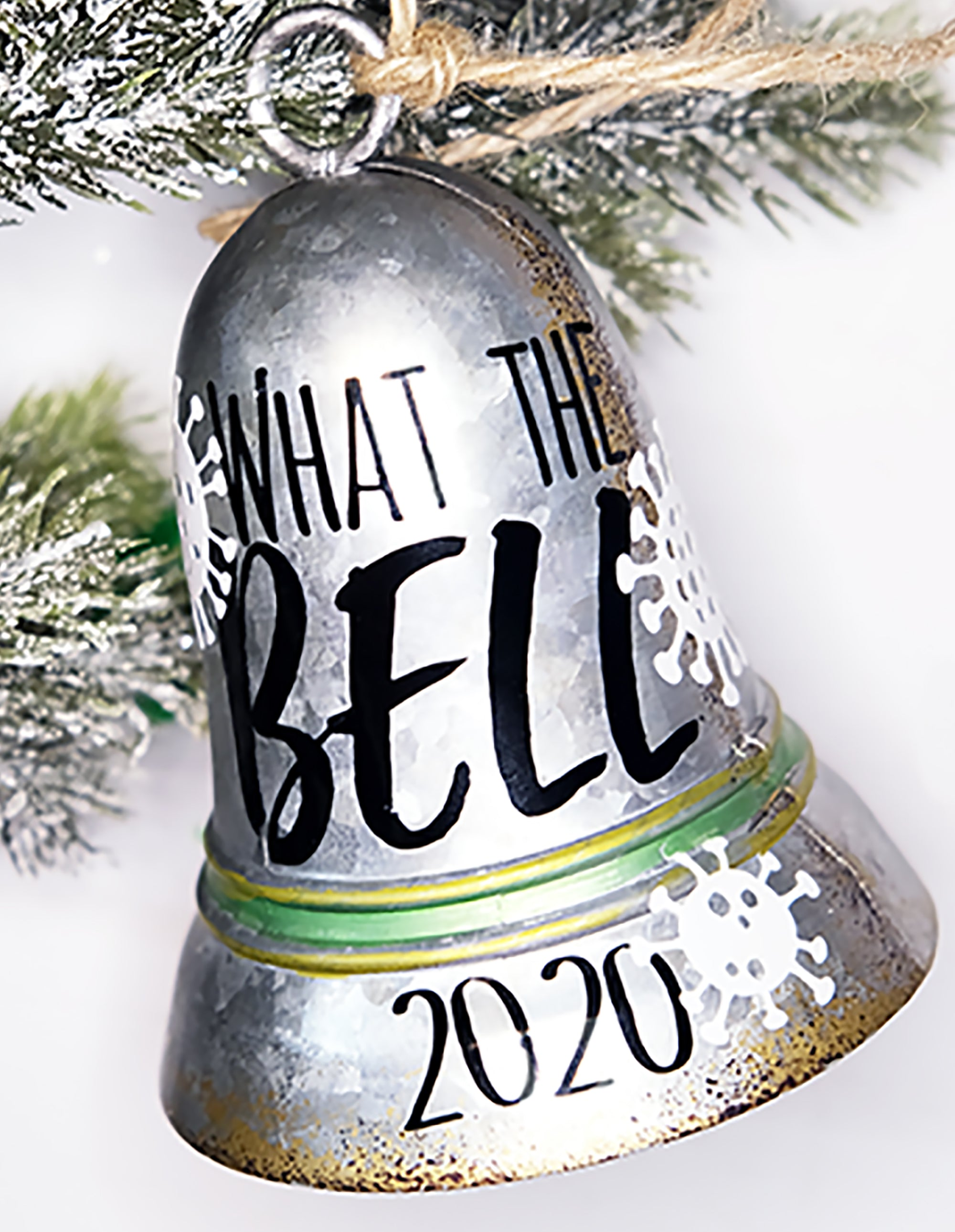 "What the ""Bell"" 2020 Christmas Ornament Tutorial"