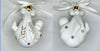 CASE of 6 - Blank Baby's First Christmas Ornaments -